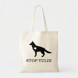 """""""STOPPEN Sie YULIN"""" Taschen-Tasche Tragetasche"""