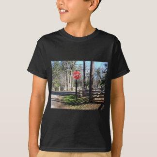 Stoppschild T-Shirt