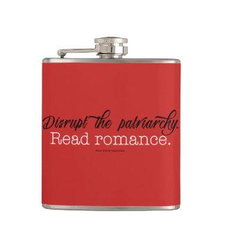 Stören Sie den Patriarchy. Lesen Sie Romance Flachmann