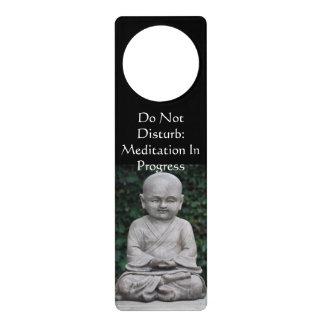 Stören Sie nicht Meditations-Türknauf-Aufhänger Türanhänger