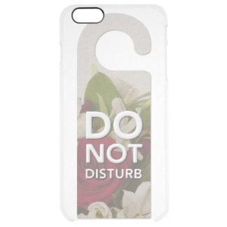 Stören Sie nicht Rosen und Lilly Durchsichtige iPhone 6 Plus Hülle