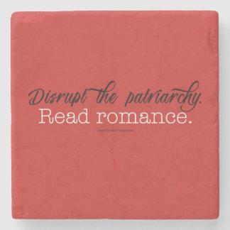 Stören Sie Patriarchy gelesene Romance. Entsteinen Steinuntersetzer