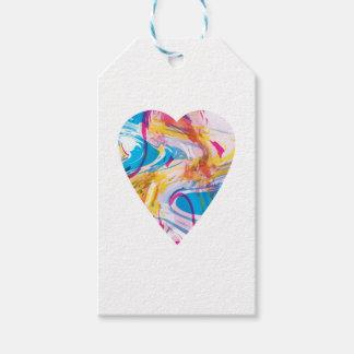 Störschub-Kunst-Herz Geschenkanhänger