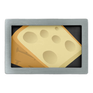Störschub-Nahrungsmittelextravaganter Käse Rechteckige Gürtelschnallen