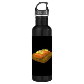 Störschub-Nahrungsmittelzedern-Plankenlachse Trinkflasche