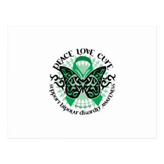 Störungs-Schmetterling Stammes- 2 Postkarte
