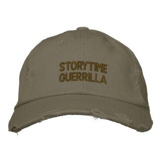 Storytime Guerilla-Hut Bestickte Baseballkappe