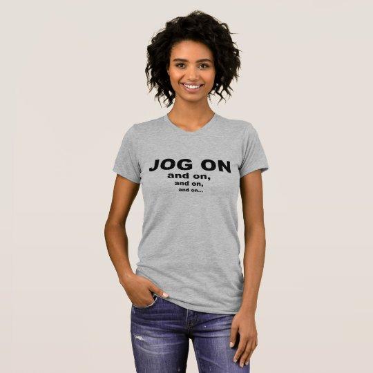 Stoß auf T - Shirt