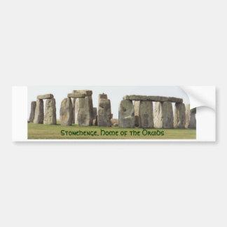 Stoßaufkleber Stonehenge, Zuhause der Druiden Autoaufkleber