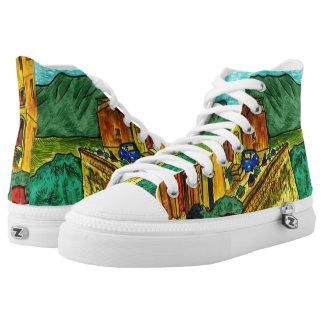 Strada di Artisti Hoch-geschnittene Sneaker