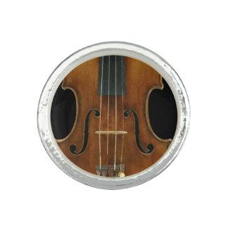 Stradivari Nahaufnahme Foto Ringe