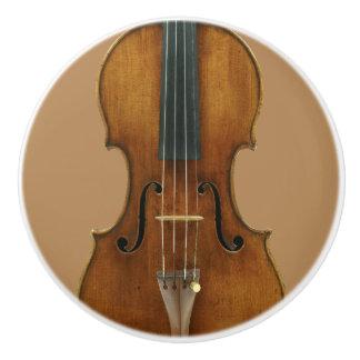 Stradivari Violinen-Detail Keramikknauf