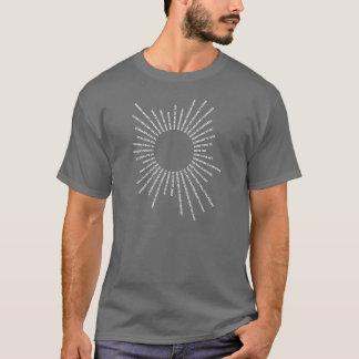 Strahlen des Sonneweiß T-Shirt
