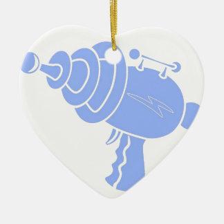 Strahln-Gewehr Keramik Herz-Ornament
