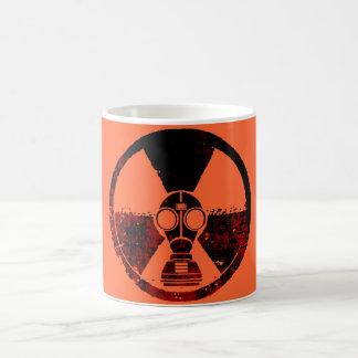 Strahlung angesteckte Stadt (hoch) Kaffeetasse