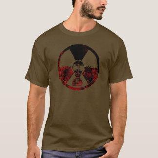 Strahlung angesteckte Stadt (hoch) T-Shirt