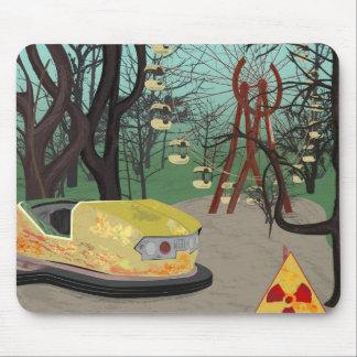 Strahlungs-Land-Freizeitpark-Art Mousepad