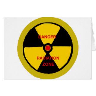 Strahlungszone Karte