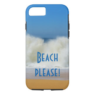 Strand bitte! Strandszenen-Telefonkasten iPhone 8/7 Hülle
