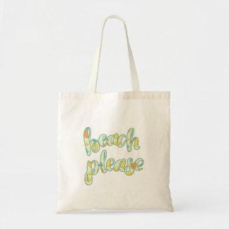 Strand-bitte Tasche