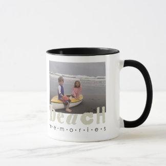 Strand-Erinnerungens-Tasse Tasse