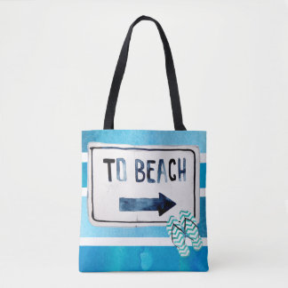 Strand-Familien-Wiedersehen Watercolorsurfbrett Tasche