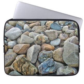 Strand-Felsen Laptopschutzhülle