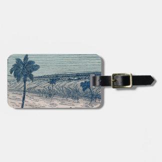Strand-Ferien Gepäckanhänger
