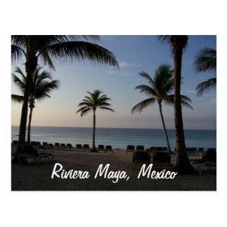 Strand-Ferien Riviera-MayaCancun Mexiko Postkarte