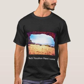 Strand-Ferien-T - Shirt