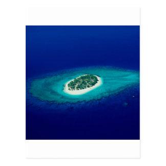 Strand-Fidschi-Inseln Postkarte