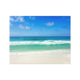 Strand-Fotografie nehmen mich zum Meer Leinwanddruck