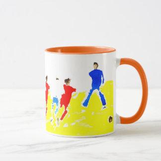 Strand-Fußball-Tasse Tasse