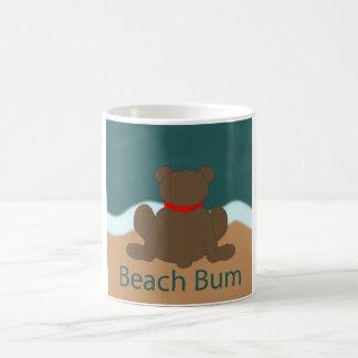 Strand-Gammler-Bär Kaffeetasse