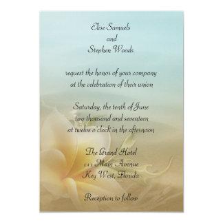 Strand-Hochzeit in Urlaubsorts-Einladung 12,7 X 17,8 Cm Einladungskarte