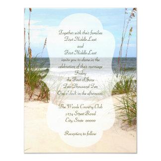 Strand-Hochzeit Karte