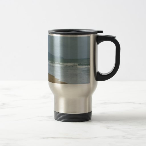 Strand-Hochzeit Kaffee Tasse