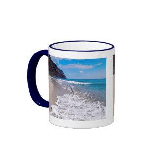 Strand-Hochzeits-Hintergrund Teehaferl