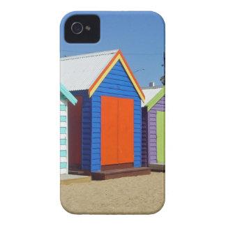 Strand-Kasten-Hütte Melbourne Australien iPhone 4 Case-Mate Hüllen