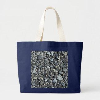 Strand-Kiesel - riesige Tasche