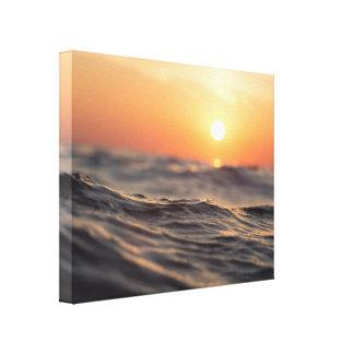 Strand-Meer Leinwanddruck