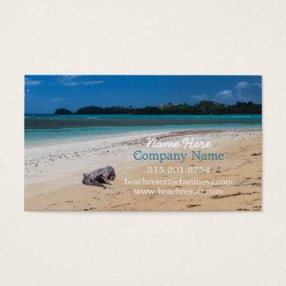 Strand-Mieteigentum, Erholungsort und Visitenkarte