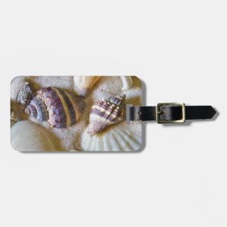 Strand-Muschel-Thema #2 Gepäckanhänger