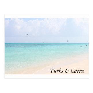 Strand-Postkarte Postkarte