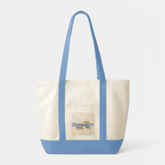 STRAND-REGENSCHIRM-Taschen-/-strandtasche Impulse Stoffbeutel