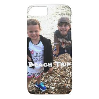 Strand-Reise Ihr Fototelefonkasten iPhone 8/7 Hülle