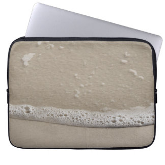 Strand-Sand und Seeschaum Laptop Sleeve