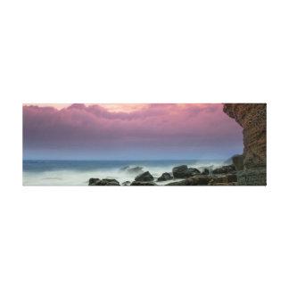 Strand-Schönheit Leinwanddruck