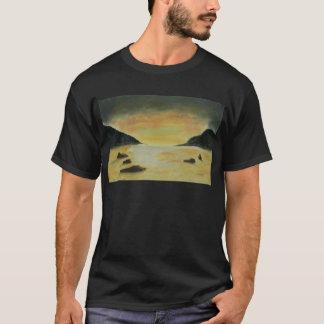 Strand-Sonnenuntergang T-Shirt
