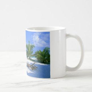 Strand-Stuhl - Sommer-Glück Kaffeetasse